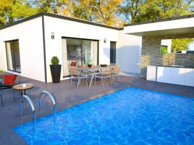 COLOMBIERS VILLA MODERNE PP de 80 m² habitables + son garage