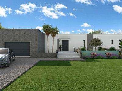 NISSAN LES ENSERUNE VILLA MODERNE 80 m² hab + GARAGE