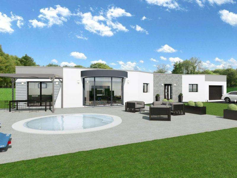 Maison moderne 4 chambres