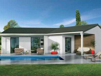 Ref:40205 - Villa de Plain-pied avec garage