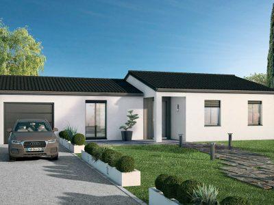Terrain + Villa à bâtir, Causse de la selle, ...