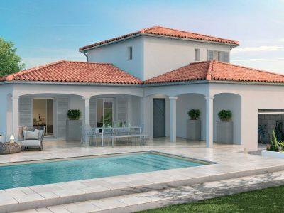 Villa de charme 112 m² 3 ch de type provençal...