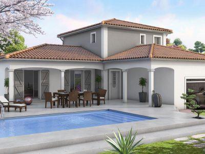 Villa provencale 116 m² 3 chambres dont suite...