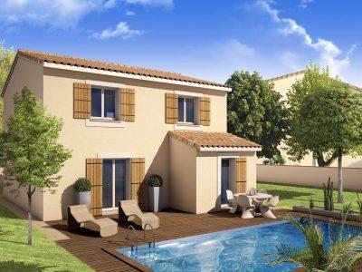 Ref:42015 - Villa étage 4 chambres avec garage à SAINT CH...