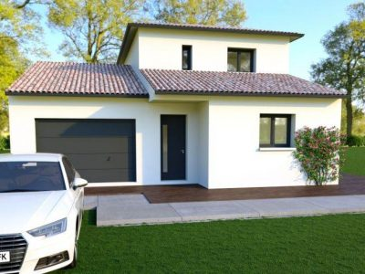 Villa neuve construction Saint-Laurent-de-la-...