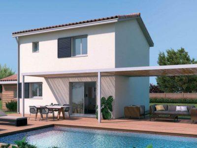 Ref:8096 - Villa neuve contemporaine A SAISIR