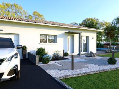 Villa T4 avec garage