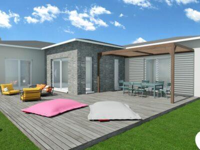 Villa 90m² + Garage