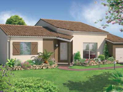 Ref:42542 - Villa 86 m² 4 pièces
