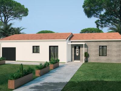 Ref:9611 - cette villa de charme sur un terrain au vill...